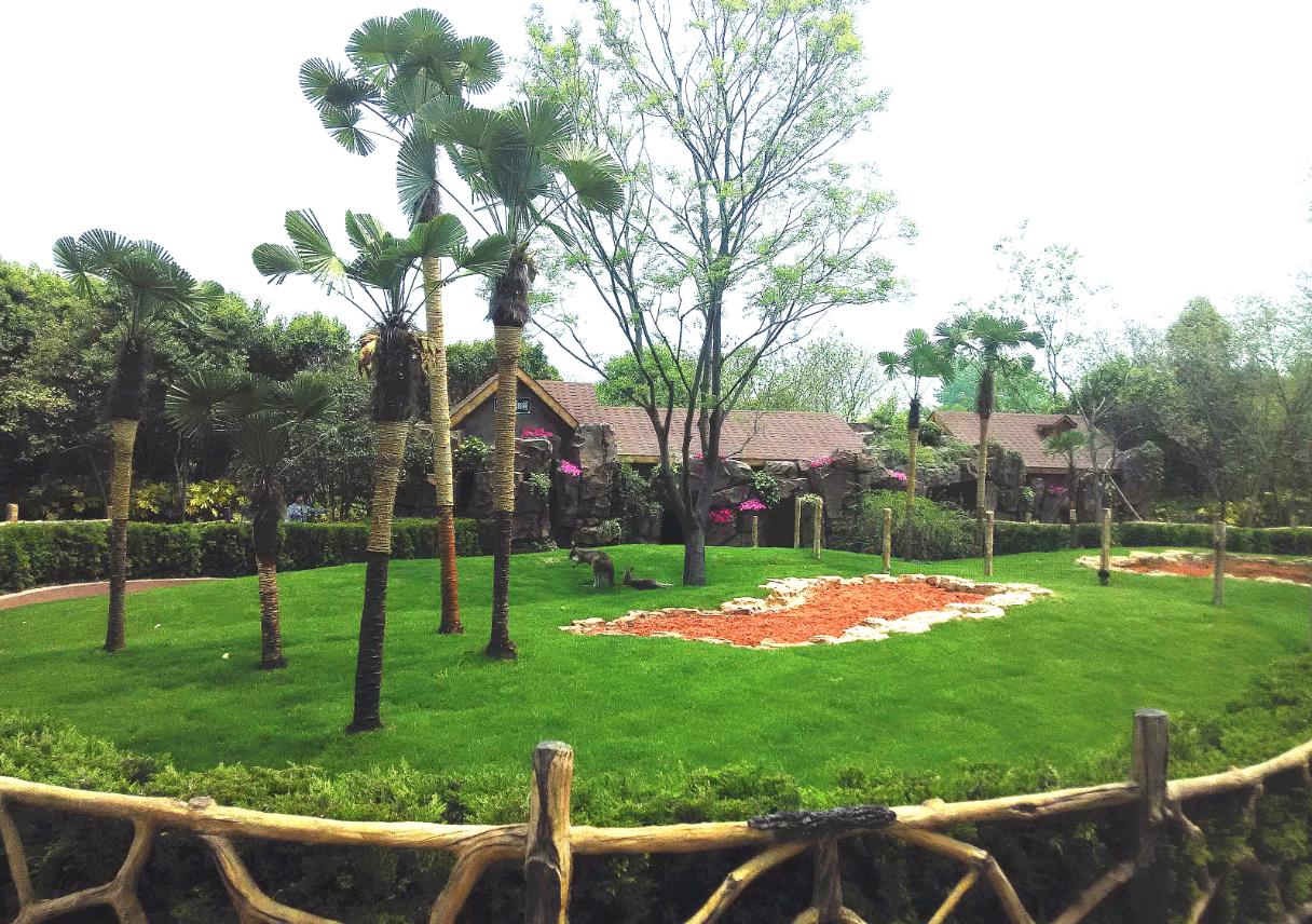 扬州茱萸湾风景区扬州动植物园